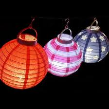 battery operated paper lantern lights 8 4th of july red white and blue battery operated led paper