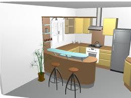 cuisine avec bar am駻icain impressionnant meuble bar separation cuisine americaine et modele de