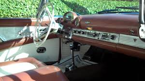 Classic Cars For Sale In Los Angeles Ca 1956 Ford Thunderbird For Sale With Continental Kit Hard Top