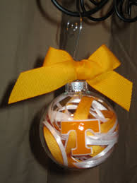 tennessee vols handmade glass ornament by scrapsandflowers on etsy