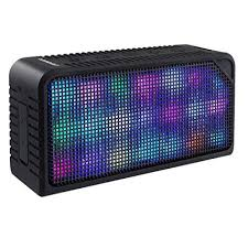 portable speaker with lights amazon com bluetooth speakers urpower hi fi portable wireless