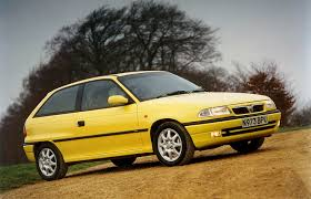 vauxhall yellow vauxhall t92 astra f press releases