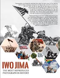 Flag Iwo Jima Iwo Jima U2014 The Most Reproduced Photograph In History
