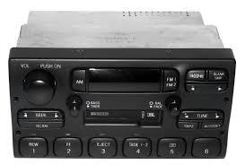 lincoln town car 1995 97 oem radio jbl am fm cassette player part