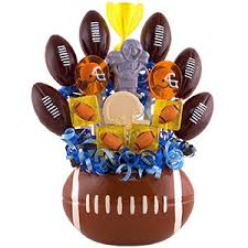 football gift baskets football lollipop bouquets gift ideas for at gift baskets etc