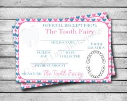 fairy certificate etsy