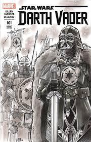 viking darth vader sketch cover by timshinn73 on deviantart