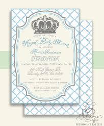 printable invitations baby shower invitation prince