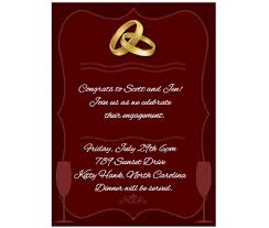design for invitation card download download this engagement party invitation card and other free