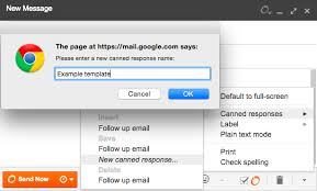 canned responses how to create gmail templates in 60 seconds