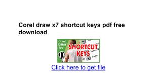 corel draw x6 keyboard shortcuts pdf corel draw x7 shortcut keys pdf free download google docs