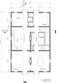 floor plan ground best modern house 2 bedroom plans open planopen
