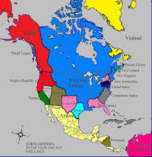 Confederate States Map by