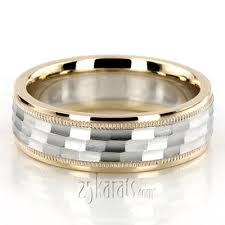 wedding ring photo diamond carved designer wedding bands for men women two tone