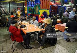 thanksgiving at mcdonalds for seniors pictures getty images