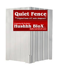 quiet fence 2 panel system for a c and pool equipment for sound