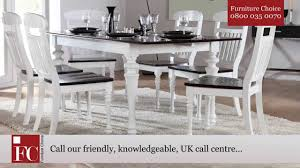 Two Tone Dining Room by Sheraton Extending Dining Table Two Tone From Furniture Choice