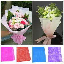 flower wrapping paper 10pcs lot multicolor tissue paper flower wrapping paper gift