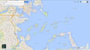 Boston Harbor Map by Sea Kayaking Hingham Hull To Peddocks Island Boston Harbor