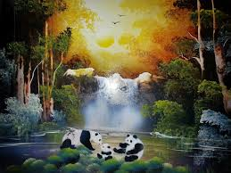 Feng Shui Painting Spray Paint Art Works Spray Paint Art 20