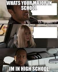 Meme High School - whats your major in school im in high school memes pinterest