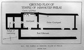 Ground Plan by File Egypt Ground Plan Of Temple Of Im Hotep Island Of Philae