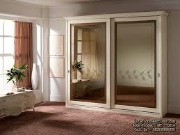 Cermin Brown lemari pakaian minimalis modern sleding cermin furniture anak