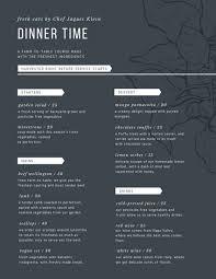 grey modern dinner menu templates by canva