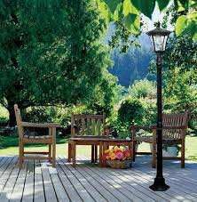 Madison Solar Lamp Post Planter by Solar Powered Lamp Post Antique Style Cast Iron Lamp Post For