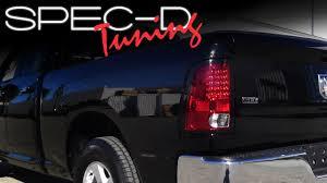 dodge ram led tail lights specdtuning installation video 2009 2012 dodge ram led tail