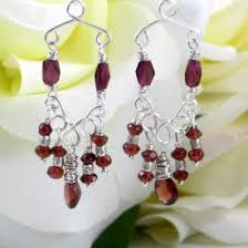 Wire Chandelier Earrings 1 Handmade Wire Chandelier Earrings Ga U0027hooletree Designs