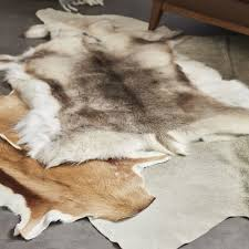Silver Cowhide Rug All Natural Hides And Sheepskins Silver Grey Natural Cowhide Rug