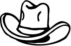 cowboy hat arrow colouring colouring tube