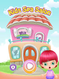 kids spa salon girls games android apps on google play