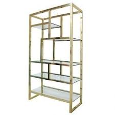 gold bookcases foter