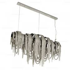 Rectangular Iron Chandelier Decorating Elegant Project With Stylish Linear Chandelier