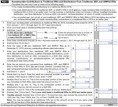 how to report a backdoor roth ira contribution on your taxes