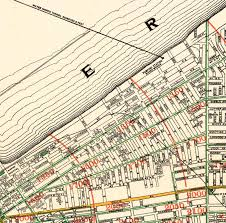 map of cleveland map of cleveland and suburbs 1912 maps and vintage prints