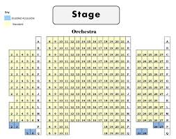 chicago theater floor plan theatre seating chart