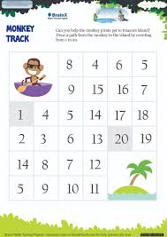 printable numbers math olympiad worksheets for kids of ukg