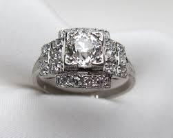 vintage art deco diamond rings archives