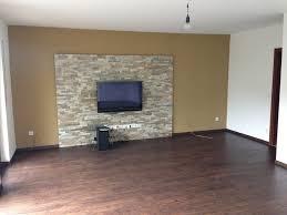 Beleuchtung In Wohnzimmer Attraktive Wandgestaltung Im Wohnzimmer Wand In Steinoptik