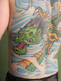 tattoo dragon full back tattoo design club green dragon full back tattoo