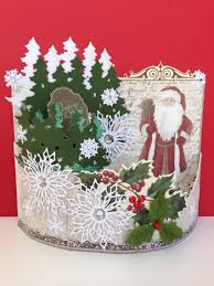 handmade bendy card by pinner christmas cards and tags