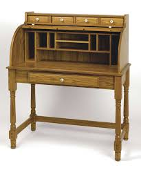 Small Oak Writing Desk by Furniture Gorgeous Rolltop Computer Desk History With Old Wood