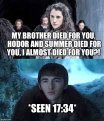 Hodor Meme - game of thrones isaac hempstead wright on bran s evolution house