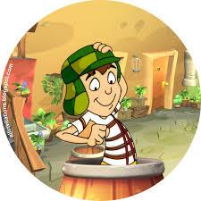 el chavo del ocho para colorear boton chavo del 8 animado all invitations