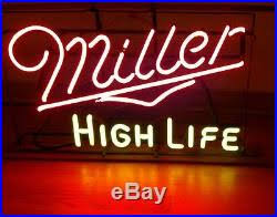 light up beer signs vintage miller high life neon beer sign light up old man cave pub