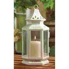 lanterns for wedding centerpieces 10 medium white style candle lanterns wedding centerpieces