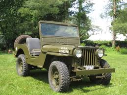 old military jeep cj2a hanson mechanical